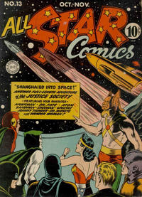 Cover Thumbnail for All-Star Comics (DC, 1940 series) #13