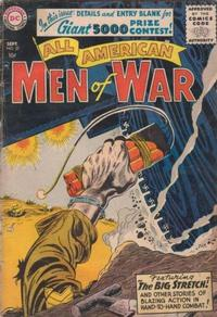 Cover Thumbnail for All-American Men of War (DC, 1953 series) #37