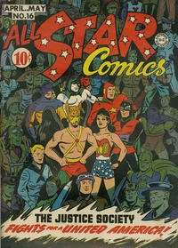 Cover Thumbnail for All-Star Comics (DC, 1940 series) #16