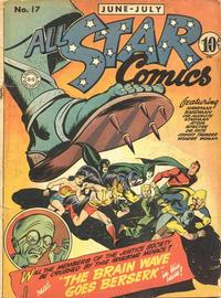 Cover Thumbnail for All-Star Comics (DC, 1940 series) #17