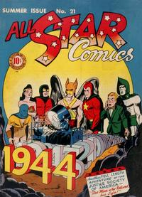 Cover Thumbnail for All-Star Comics (DC, 1940 series) #21