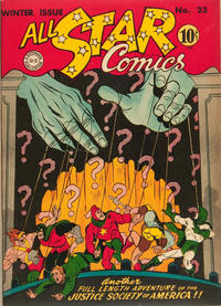 Cover Thumbnail for All-Star Comics (DC, 1940 series) #23