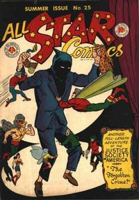 Cover Thumbnail for All-Star Comics (DC, 1940 series) #25