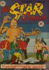 Cover Thumbnail for All-Star Comics (DC, 1940 series) #26