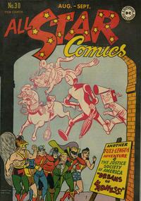 Cover Thumbnail for All-Star Comics (DC, 1940 series) #30