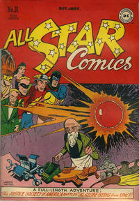 Cover Thumbnail for All-Star Comics (DC, 1940 series) #31