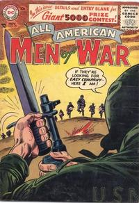 Cover Thumbnail for All-American Men of War (DC, 1953 series) #39