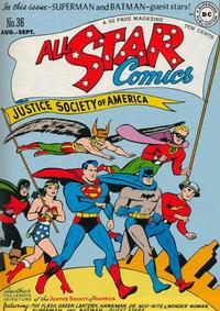 Cover Thumbnail for All-Star Comics (DC, 1940 series) #36