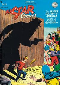 Cover Thumbnail for All-Star Comics (DC, 1940 series) #40