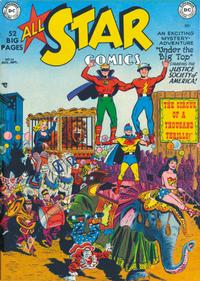 Cover Thumbnail for All-Star Comics (DC, 1940 series) #54