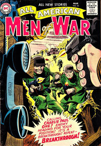 Cover Thumbnail for All-American Men of War (DC, 1952 series) #43