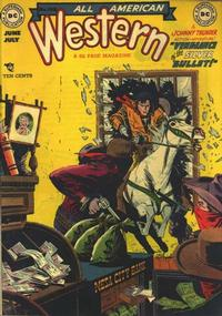 Cover for All-American Western (DC, 1948 series) #108