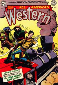 Cover Thumbnail for All-American Western (DC, 1948 series) #124
