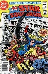 Cover Thumbnail for All-Star Squadron (DC, 1981 series) #7