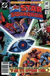 Cover Thumbnail for All-Star Squadron (DC, 1981 series) #10 [Newsstand]