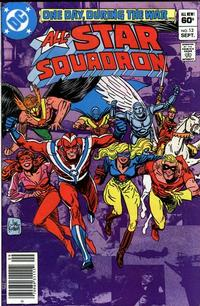 Cover for All-Star Squadron (DC, 1981 series) #13 [Direct Sales]
