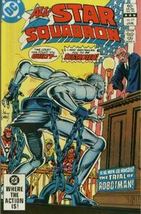 Cover for All-Star Squadron (DC, 1981 series) #17 [Direct]