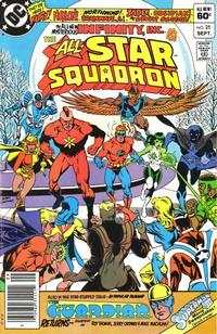 Cover Thumbnail for All-Star Squadron (DC, 1981 series) #25 [Newsstand]