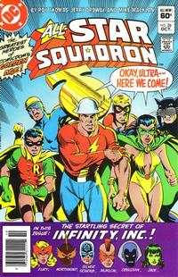 Cover Thumbnail for All-Star Squadron (DC, 1981 series) #26 [Newsstand]