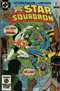Cover Thumbnail for All-Star Squadron (DC, 1981 series) #27 [Direct-Sales]