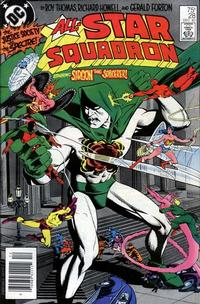 Cover Thumbnail for All-Star Squadron (DC, 1981 series) #28 [Newsstand]
