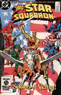 Cover Thumbnail for All-Star Squadron (DC, 1981 series) #29 [Direct]