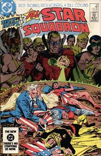Cover Thumbnail for All-Star Squadron (DC, 1981 series) #32 [Direct Edition]
