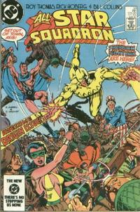 Cover Thumbnail for All-Star Squadron (DC, 1981 series) #33 [Direct Edition]