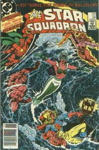 Cover Thumbnail for All-Star Squadron (DC, 1981 series) #34 [Newsstand]