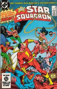 Cover Thumbnail for All-Star Squadron (DC, 1981 series) #36 [Direct Edition]