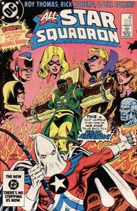 Cover Thumbnail for All-Star Squadron (DC, 1981 series) #38 [Direct]