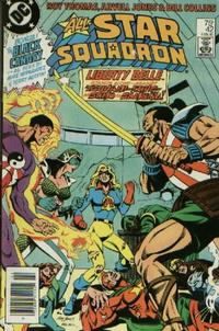 Cover for All-Star Squadron (DC, 1981 series) #42 [Direct]