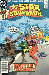 Cover Thumbnail for All-Star Squadron (DC, 1981 series) #43 [Canadian]