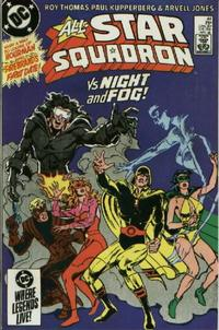 Cover Thumbnail for All-Star Squadron (DC, 1981 series) #44 [Direct Sales]