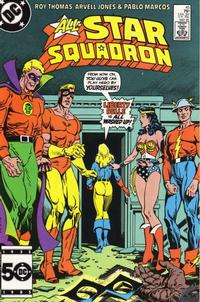 Cover Thumbnail for All-Star Squadron (DC, 1981 series) #45 [Direct Sales]