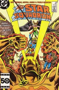 Cover Thumbnail for All-Star Squadron (DC, 1981 series) #46 [Direct Sales]
