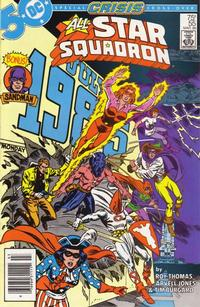 Cover Thumbnail for All-Star Squadron (DC, 1981 series) #55