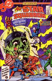 Cover Thumbnail for All-Star Squadron (DC, 1981 series) #56 [Direct Sales]