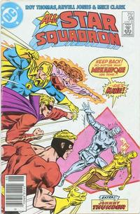 Cover Thumbnail for All-Star Squadron (DC, 1981 series) #58 [Newsstand]