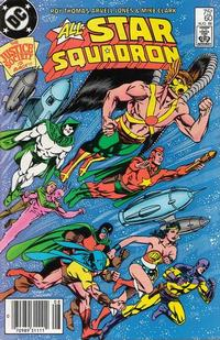 Cover Thumbnail for All-Star Squadron (DC, 1981 series) #60 [Newsstand]