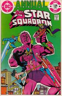 Cover Thumbnail for All-Star Squadron Annual (DC, 1982 series) #1 [Direct]