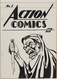 Cover Thumbnail for Action Comics [ashcan] (DC, 1937 series) #1