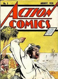 Cover Thumbnail for Action Comics (DC, 1938 series) #3