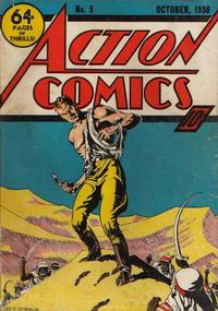 Cover Thumbnail for Action Comics (DC, 1938 series) #5
