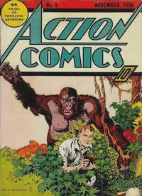 Cover Thumbnail for Action Comics (DC, 1938 series) #6