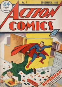 Cover Thumbnail for Action Comics (DC, 1938 series) #7