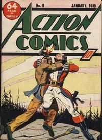Cover Thumbnail for Action Comics (DC, 1938 series) #8