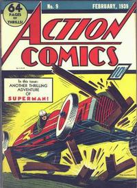Cover Thumbnail for Action Comics (DC, 1938 series) #9