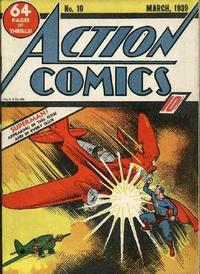 Cover Thumbnail for Action Comics (DC, 1938 series) #10