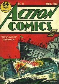 Cover Thumbnail for Action Comics (DC, 1938 series) #11